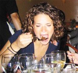 Привычка вкусно и много поесть